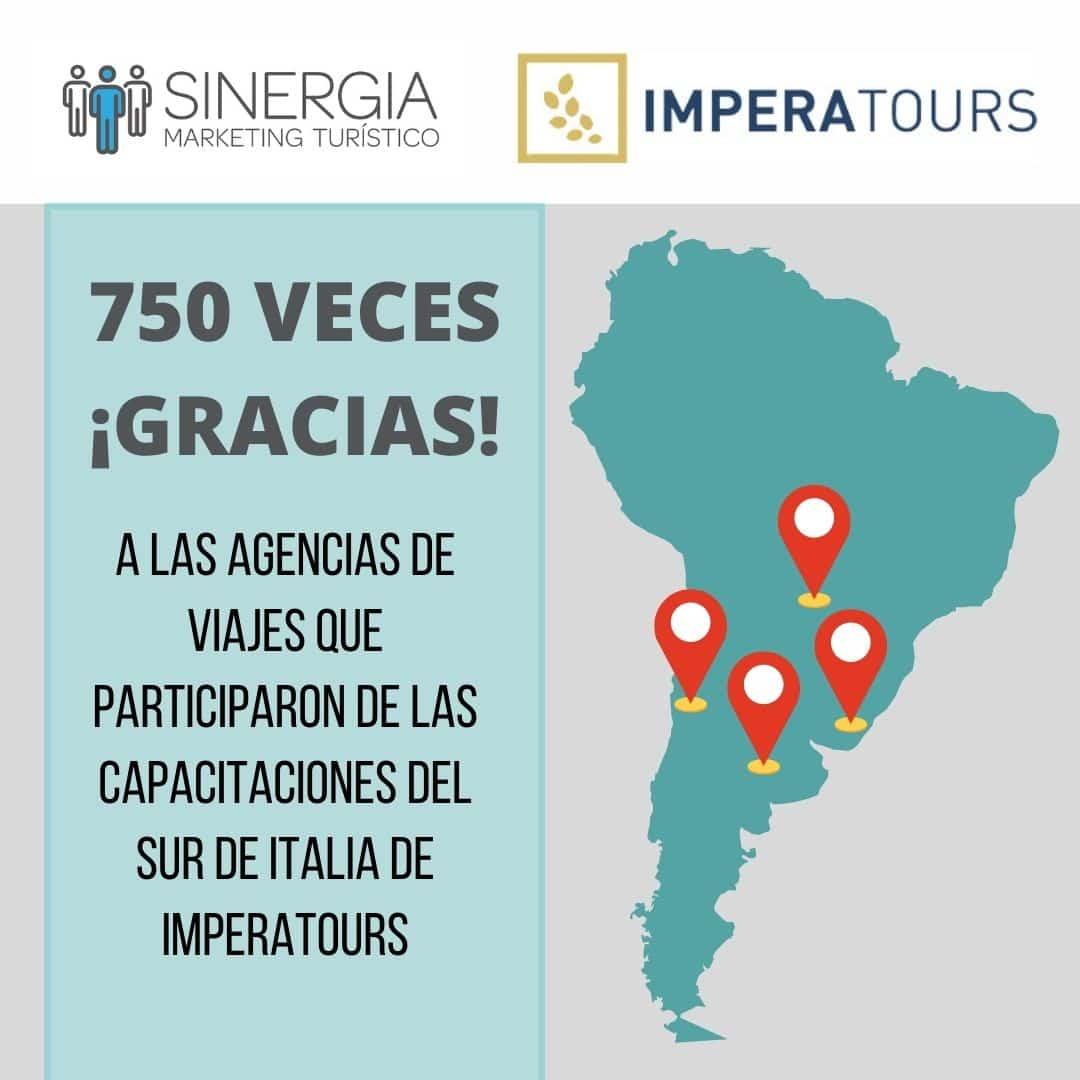 Sinergia Marketing Turístico acciones en Pandemia para Imperatore Travel