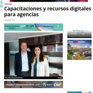Capacitaciones y recursos digitales para agencias